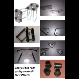 Chevy 63 or F150 rear spring kit Toyota